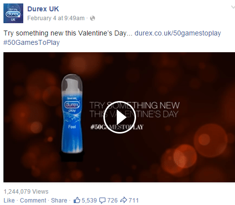social media strategy durex