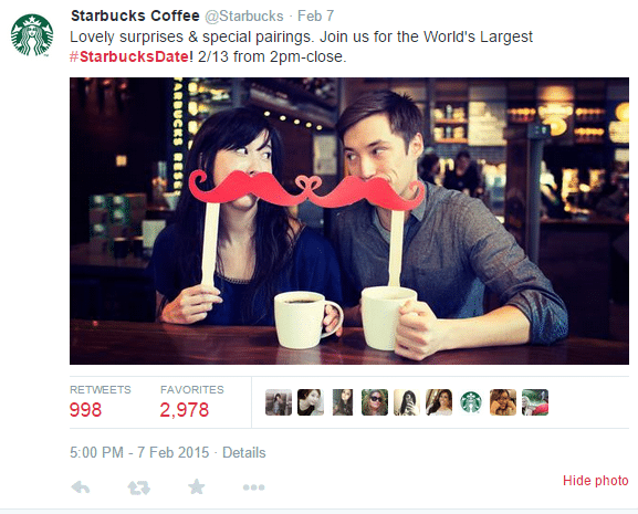 social media strategy starbucks