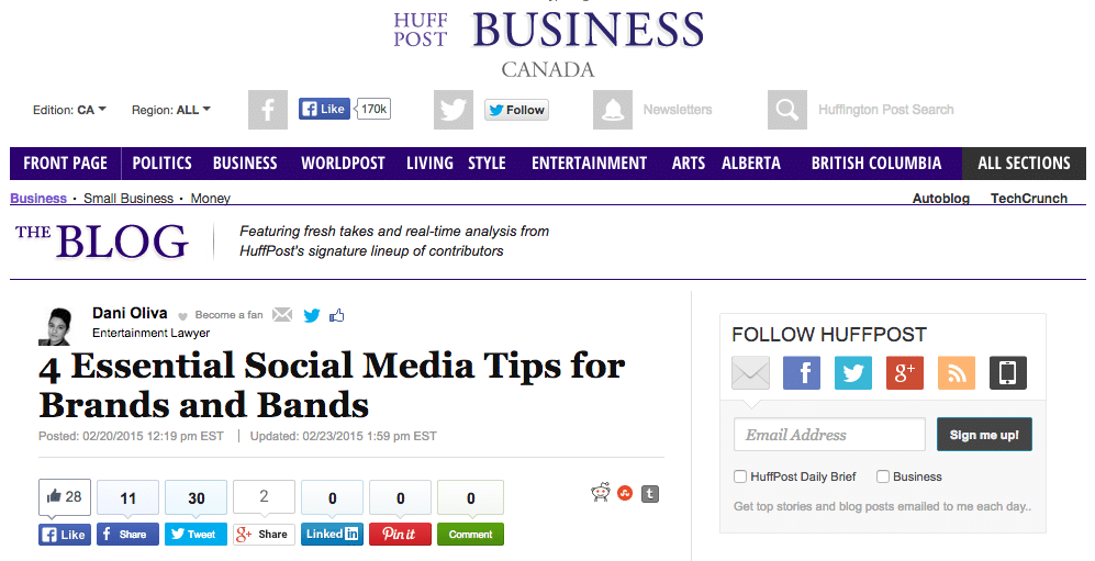 social_media_management_tips_HuffPost