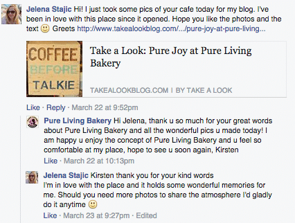 customer_relationship_management_Pure_Living_bakery