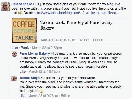 customer_relationship_management_Pure_Living_bakery
