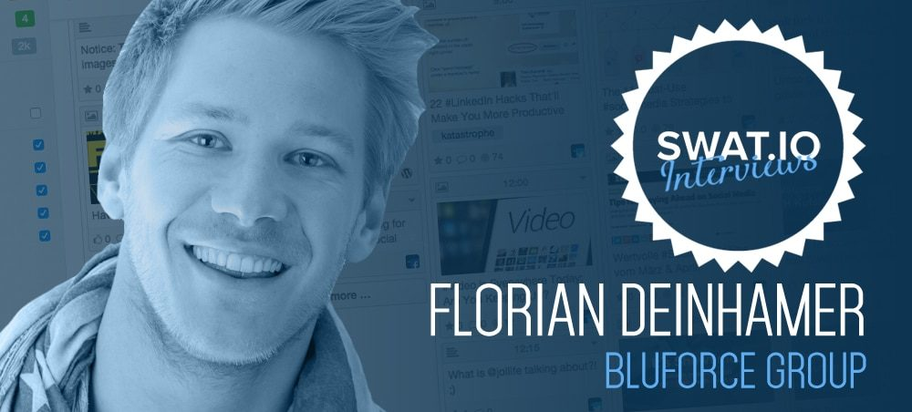 """Florian Deinhamer, Bluforce Group (Österreich): """"Teil der Social Media Strategie sollte sein, sich jeden Tag auf's Neue zu hinterfragen"""" 2"""