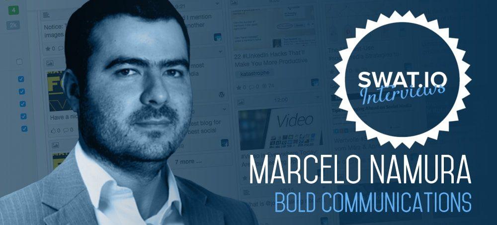 """Marcelo Namura, Bold (Brasilien): """"Die Arbeit unseres Teams kann das Leben von Konsumenten verändern."""" 1"""
