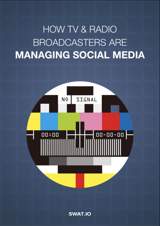 eBook Cover Flat How Broadcasters are Managing Social Media