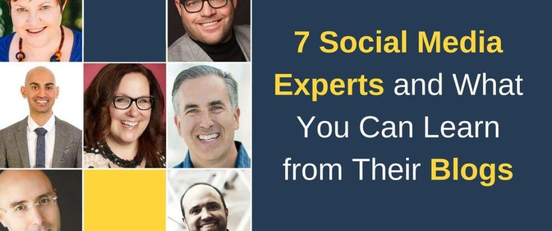 7 Social Media Experten und was du aus ihren Blogs lernen kannst 1