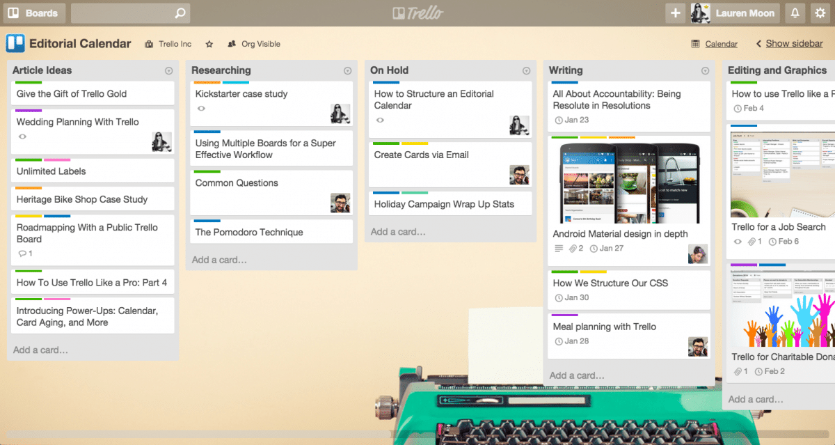 How to Brainstorm Social Media Content - Trello