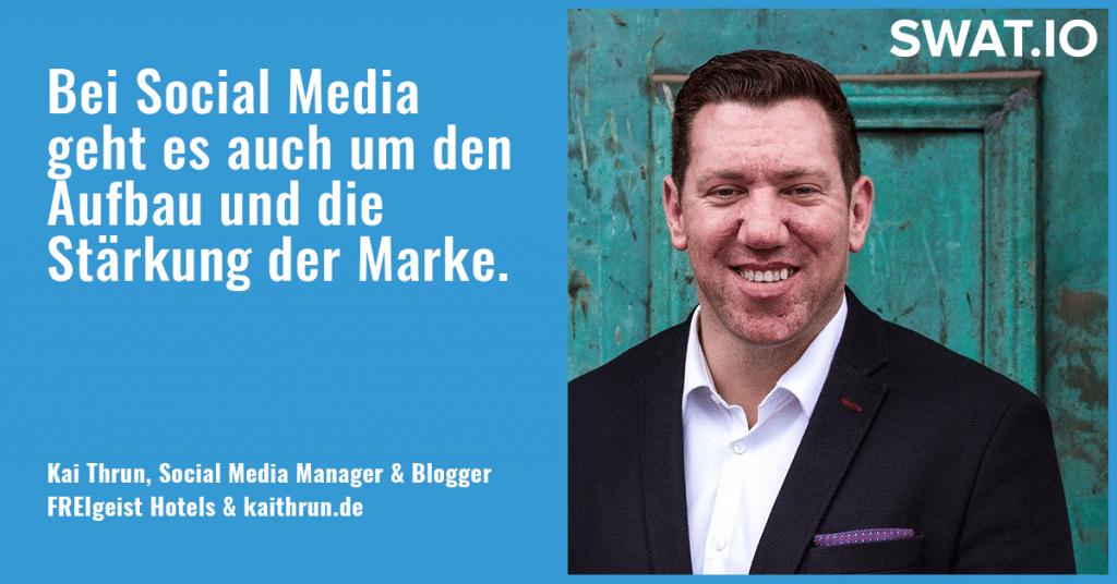 """Kai Thrun, Social Media Manager: """"Aus Content Qualität entsteht Vertrauen"""" 4"""