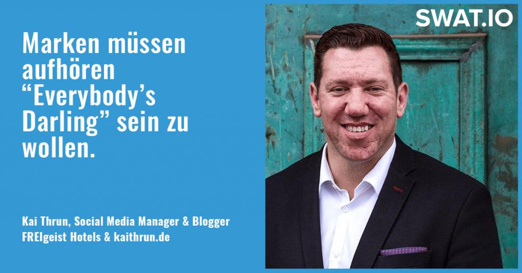 """Kai Thrun, Social Media Manager: """"Aus Content Qualität entsteht Vertrauen"""" 5"""
