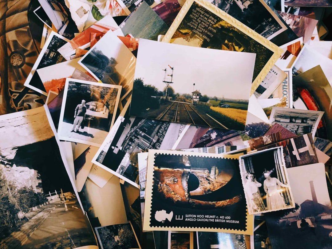 Social Media Tourismus Postkarten