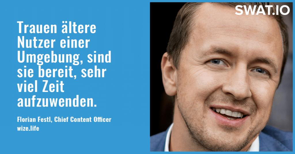 """Florian Festl, Wize.life: """"Identifikation der User mit der Art der Content-Aufbereitung"""" 4"""