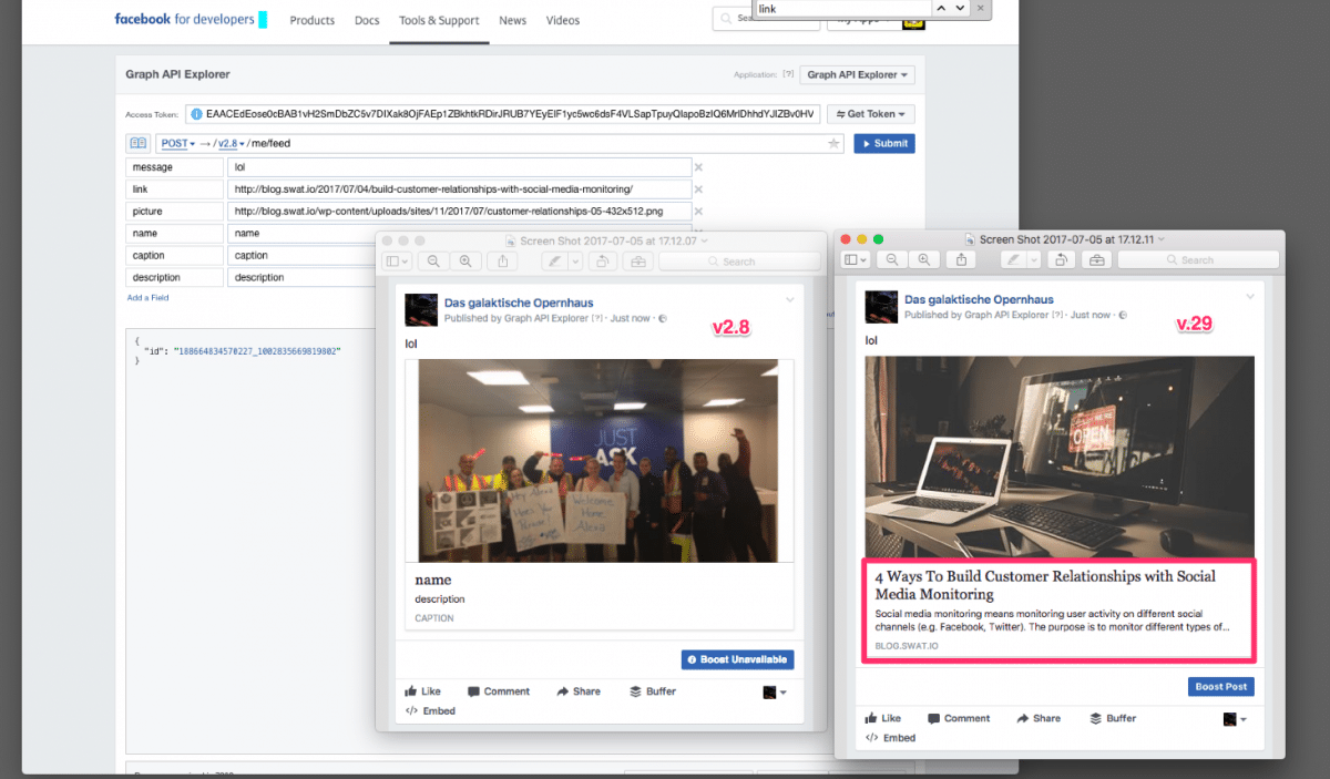 Facebook: The End of Custom Link Preview Snippets (Deprecation