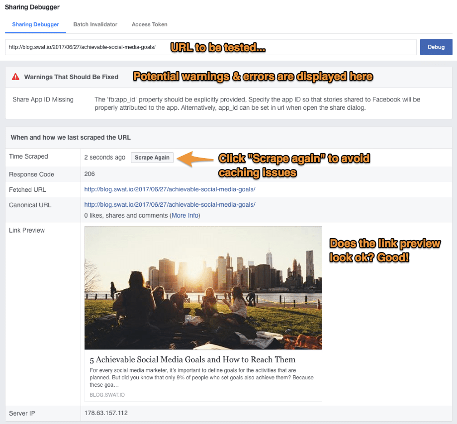 Facebook Link-Previews – 5 Workarounds um Link-Posts auch nach dem 18. Juli zu modifizieren 3