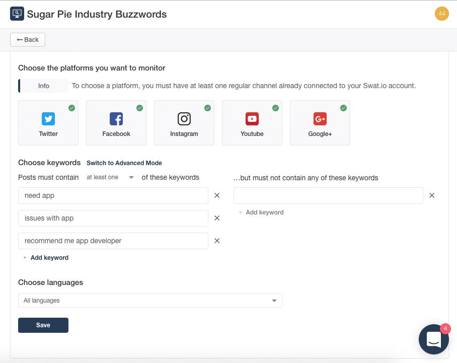 Wie du deine Swat.io Ticket Inbox für Social Media Monitoring einrichtest 4