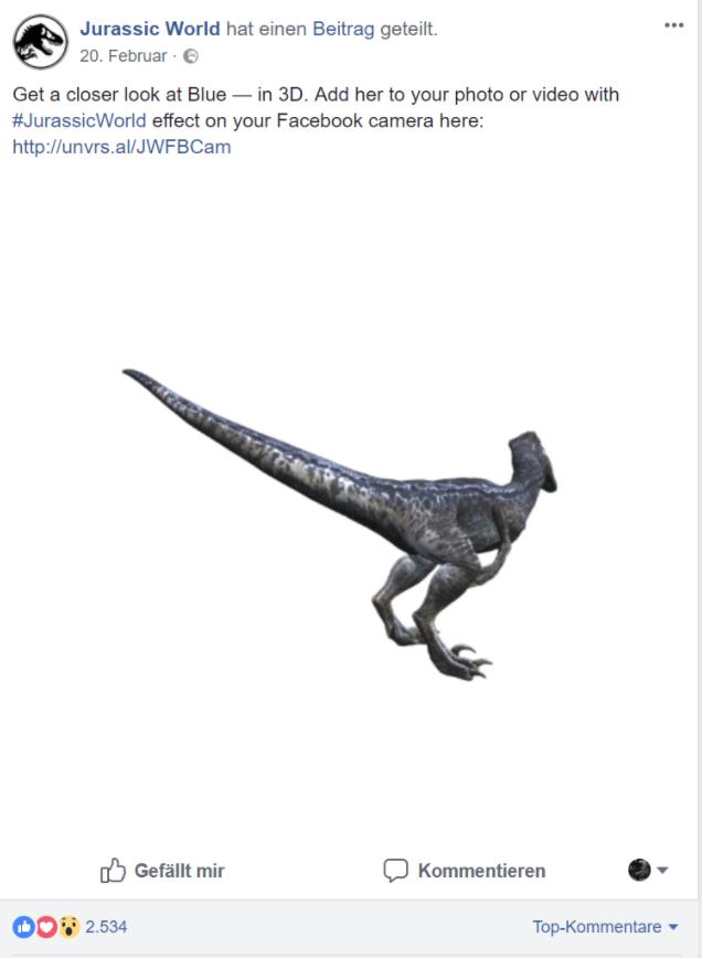 3D Posts auf Facebook – Spielerei oder ernstzunehmendes Marketinginstrument? 4