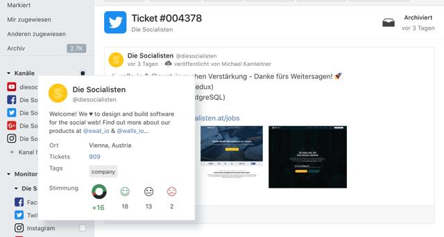 Feature Update März 2018 – Veröffentlichen von LinkedIn Foto-Posts und Social CRM Profile Hover Cards 2