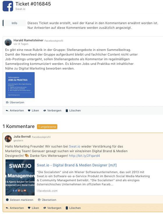 Feature Update Februar 2018 - Veröffentlichen auf LinkedIn und verbessertes Monitoring 8