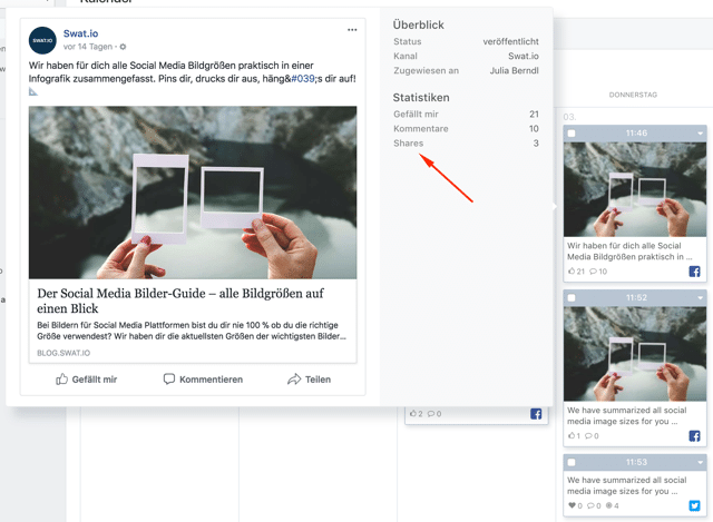 Feature Update Mai 2018 - Instagram Realtime Updates, Erweiterung zu Twitter Direct Messages und mehr 2