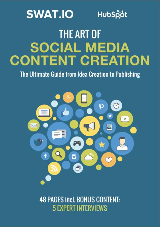 Social Media Content Creation E-Book