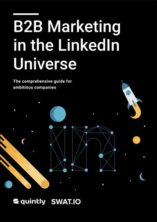 B2B Marketing LinkedIn E-Book