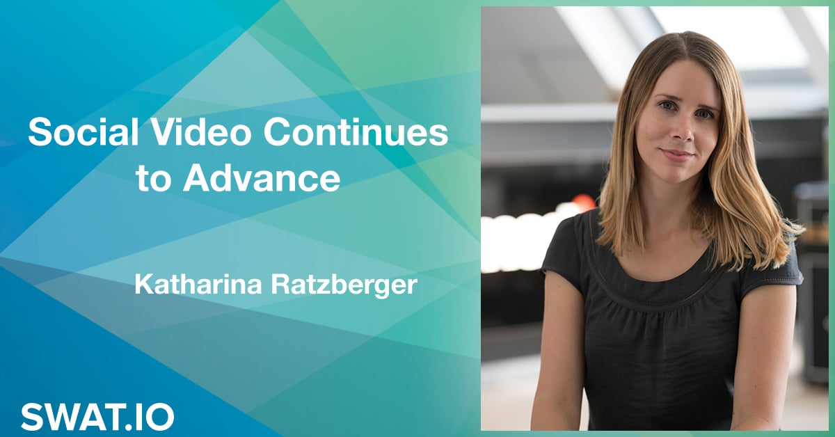 Katharina Ratzberger about the Social Media Trends 2019