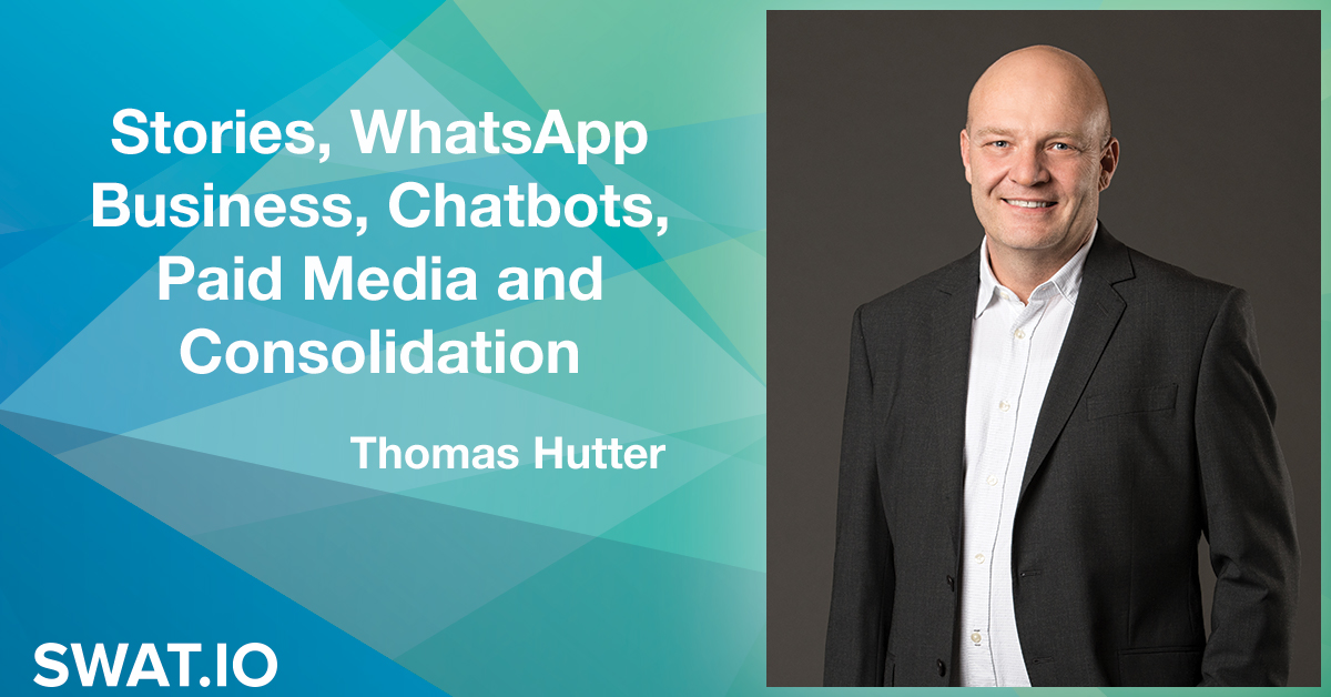 Thomas Hutter about the Social Media Trends 2019