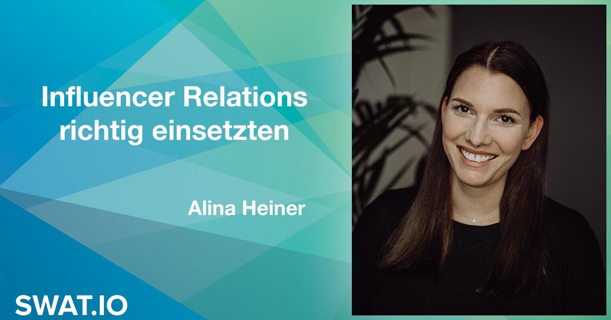 Alina Heiner über die Social Media Trends 2019