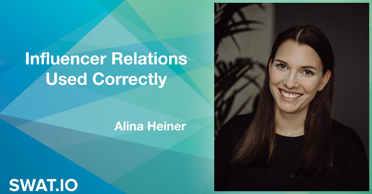 Alina Heiner about the Social Media Trends 2019