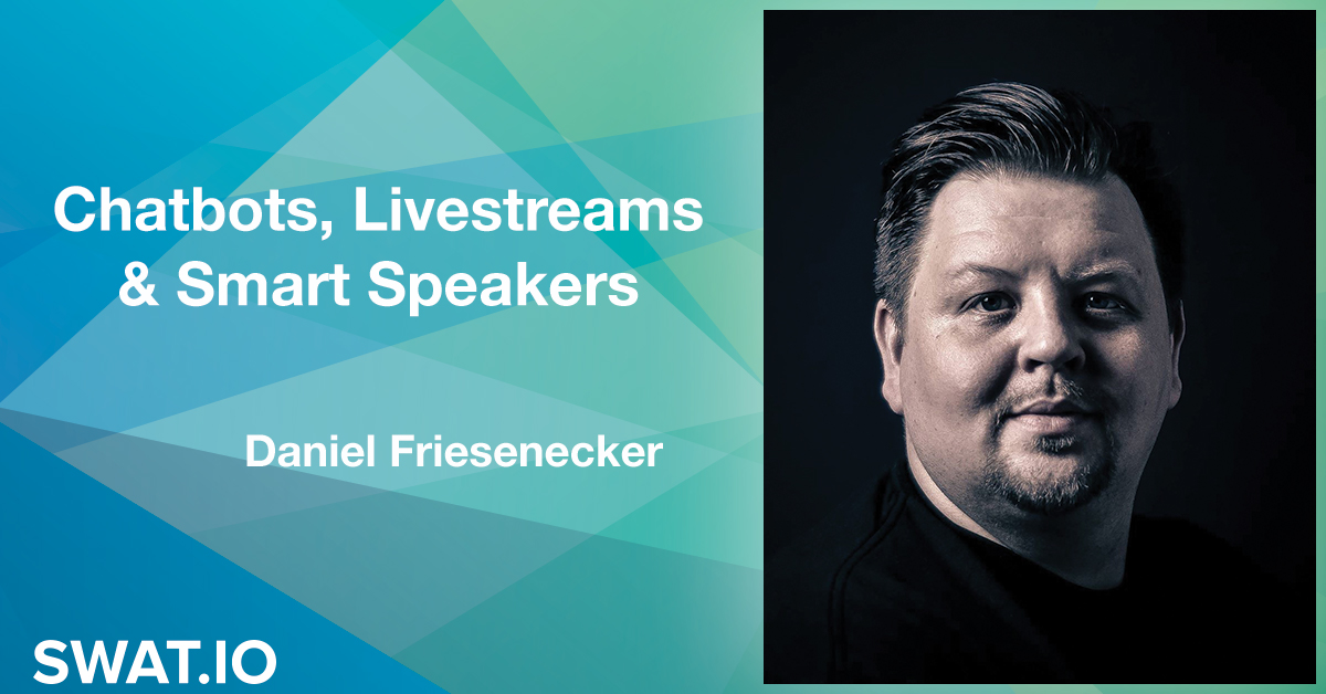 Daniel Friesenecker about the Social Media Trends 2019