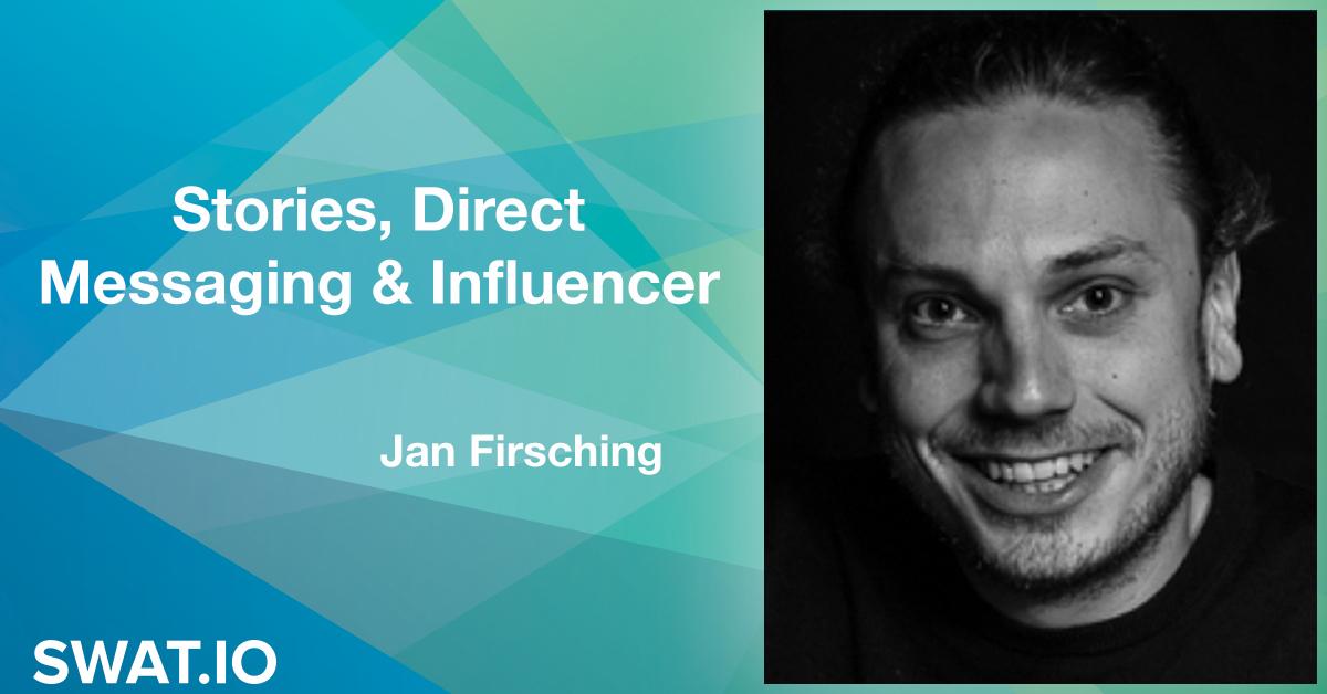 Jan Firsching about the Social Media Trends 2019