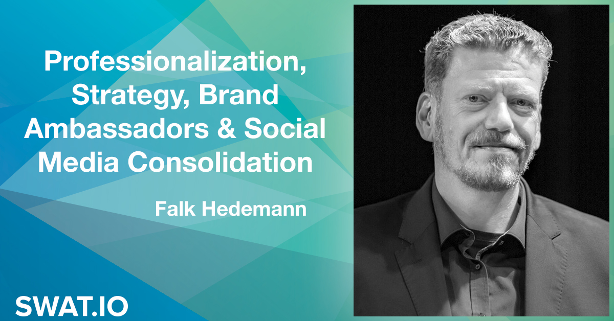 Falk Hedemann about the Social Media Trends 2019