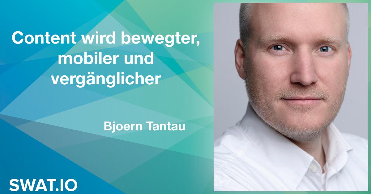 Björn Tantau über die Social Media Trends 2019