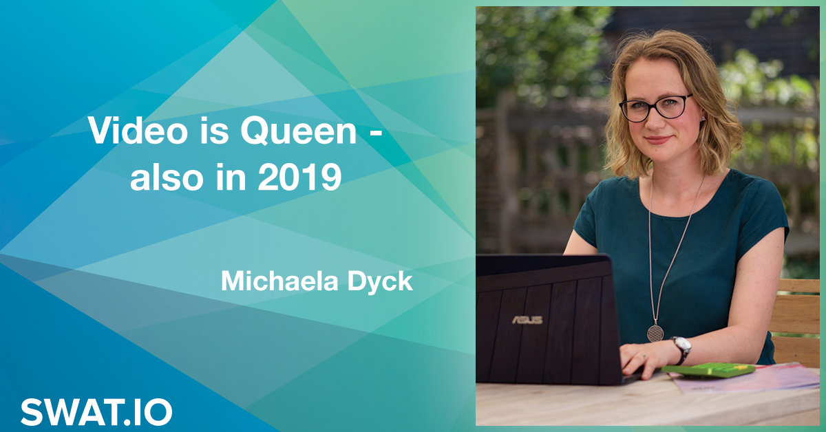 Michaela Dyck about the Social Media Trends 2019