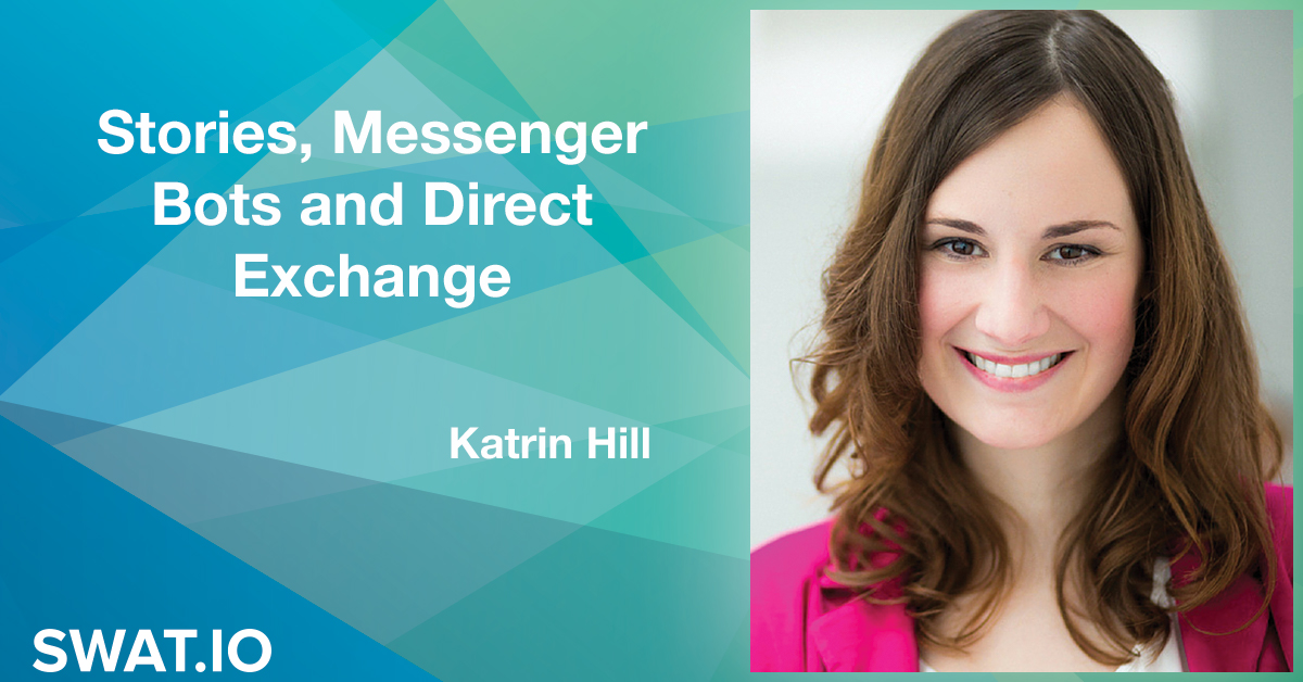 Katrin Hill about the Social Media Trends 2019