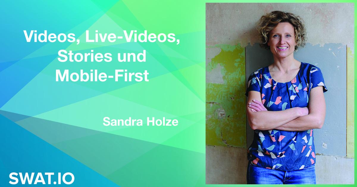 Sandra Holze über die Social Media Trends 2019