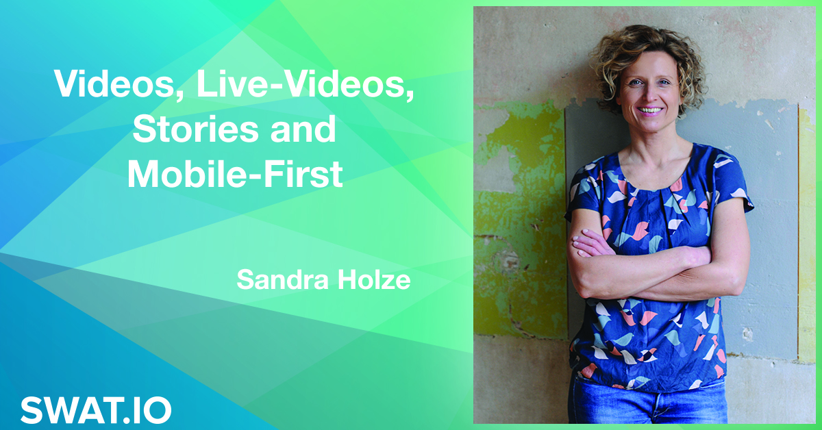 Sandra Holze about Social Media Trends 2018