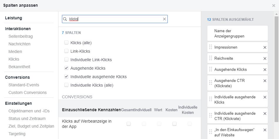 Facebook alle Klicks zeigen - Swat.io