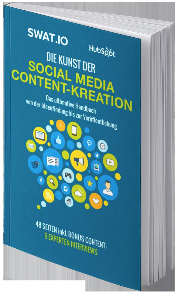 eBook Cover Die Kunst der Social Media Content-Kreation