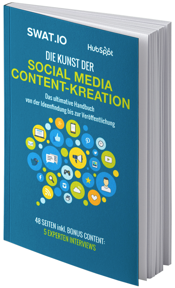 eBook Cover Die Kunst der Social Media Content-Kreation