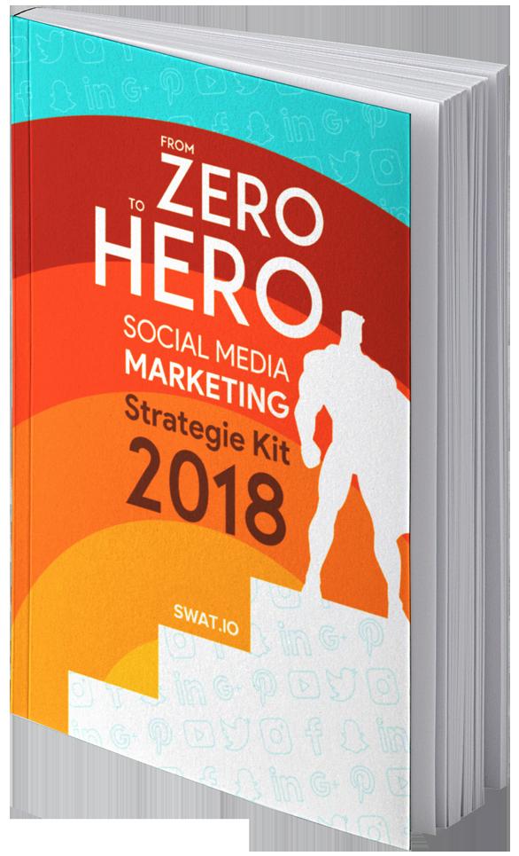 eBook Cover Social Media Strategie Kit 2018