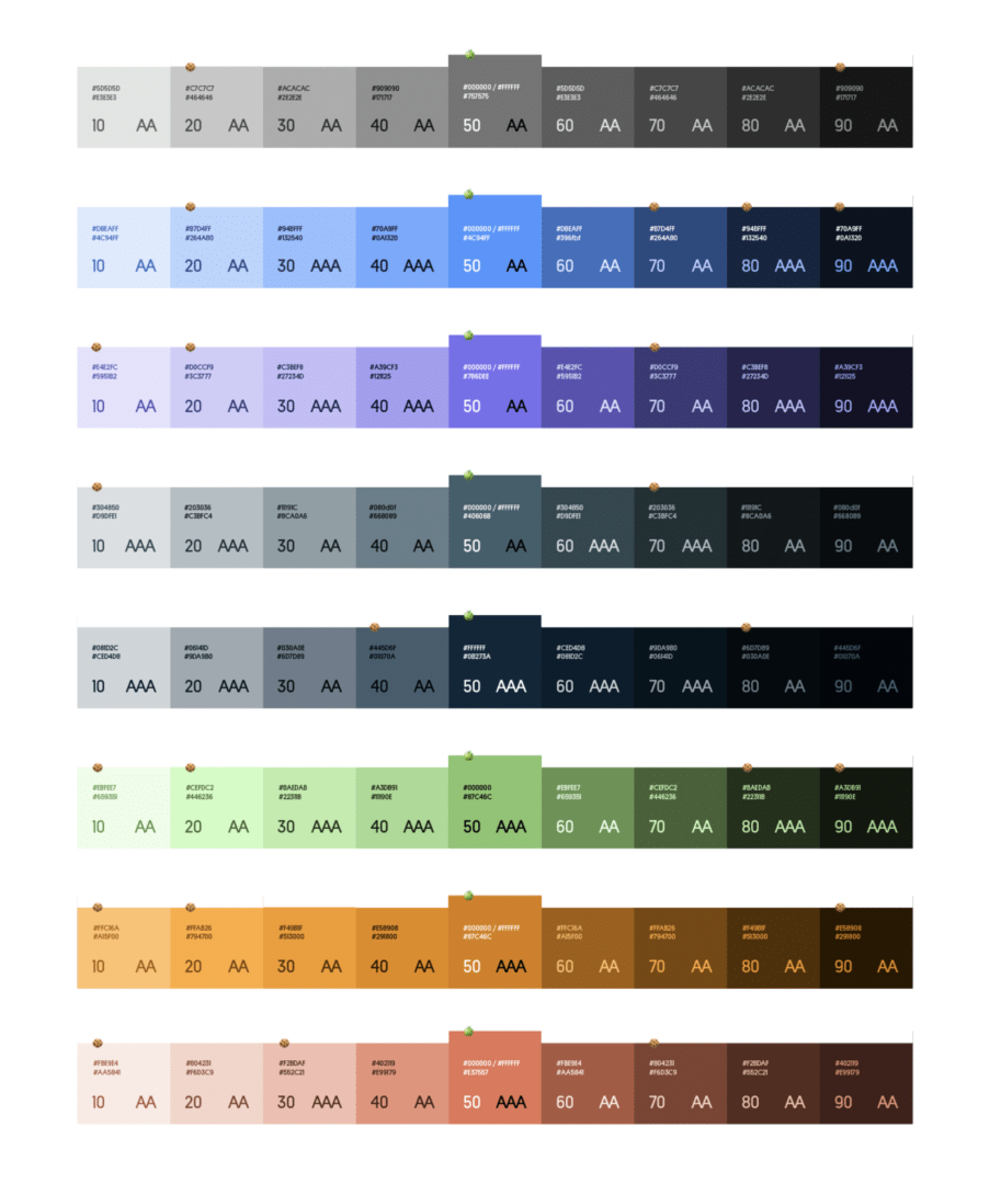 Rebranding Color Palette