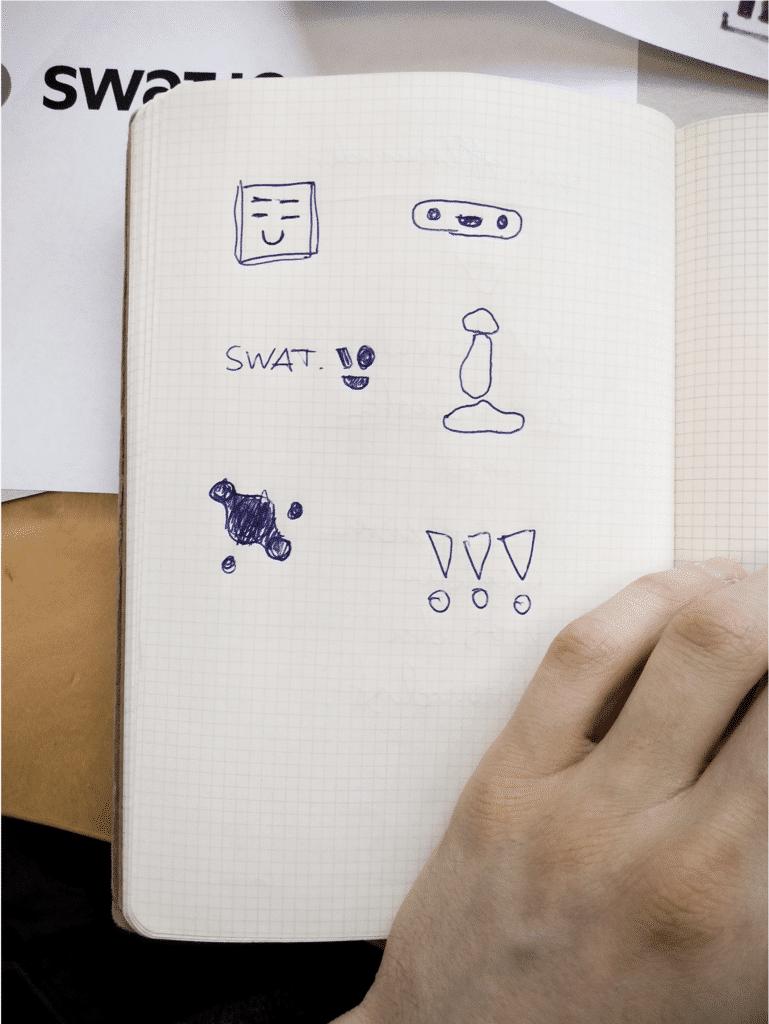 Logo Drafts Swat.io Rebranding 02