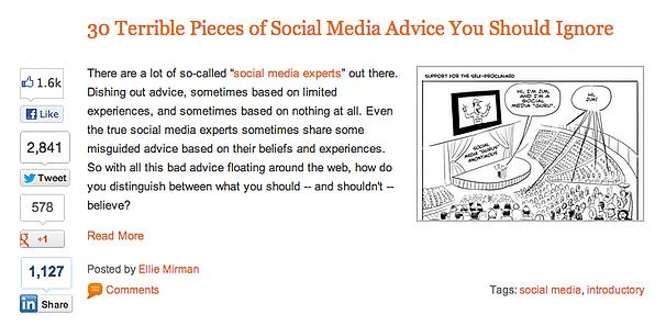 Social Proof Blog Post