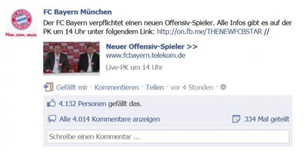Social Media Fails FC Bayern Munich