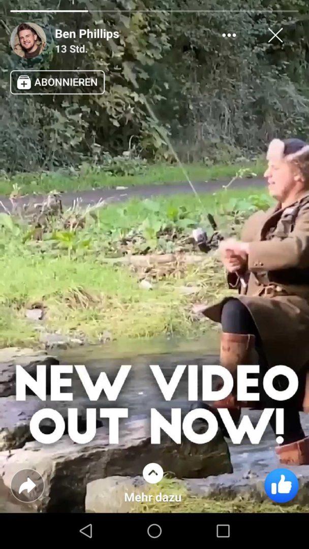 Facebook Stories Ben Phillips Video Teaser