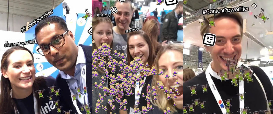 AR Filter Swat.io DMEXCO