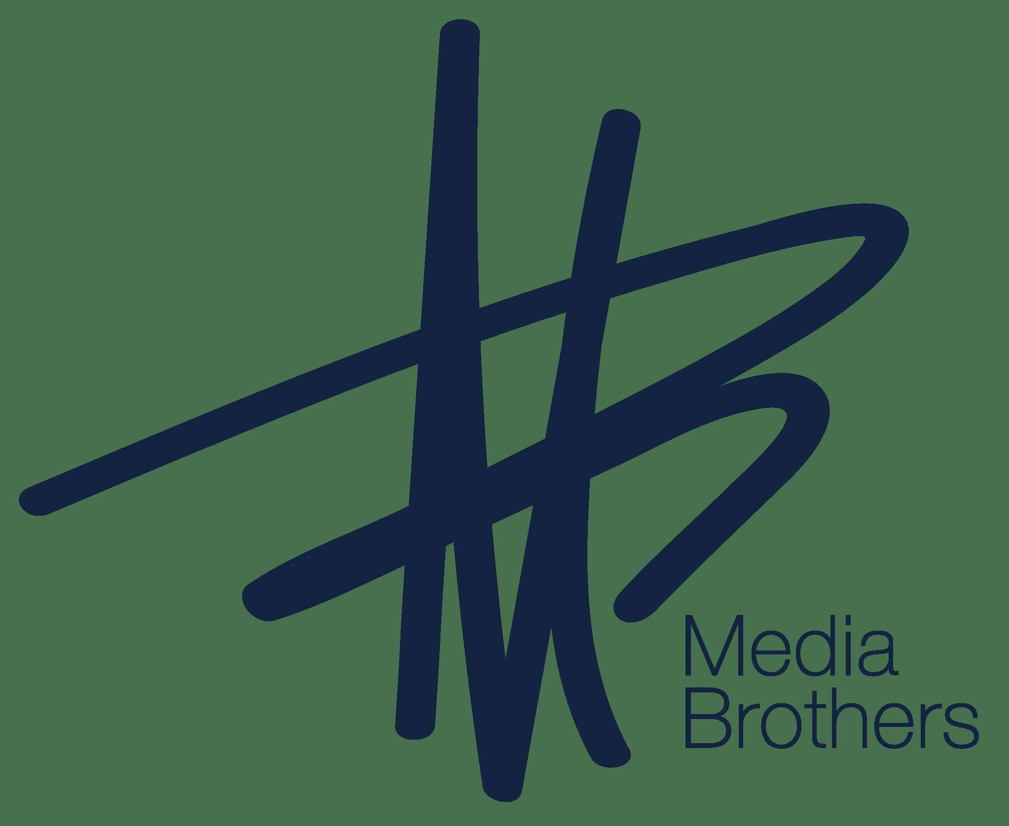 Logo Media Brothers dunkelblau