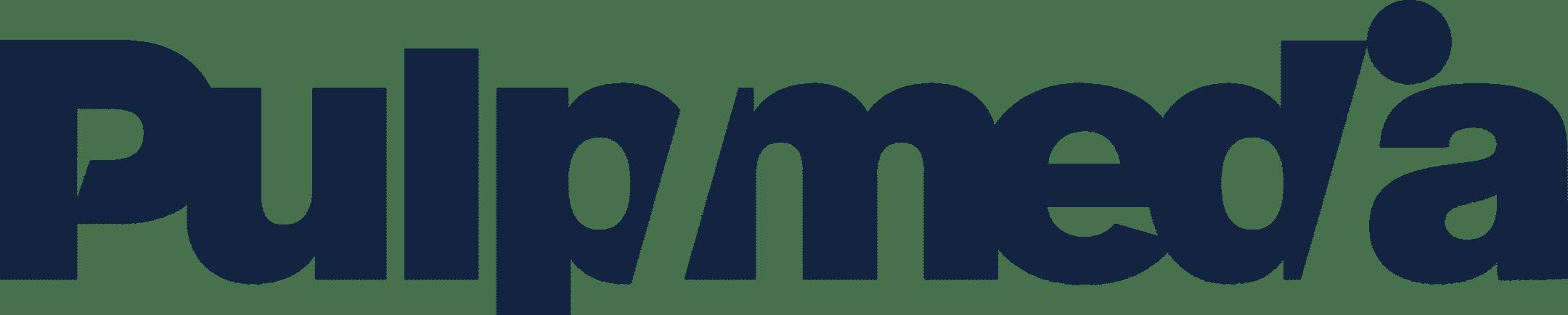 Logo Pulpmedia dunkelblau
