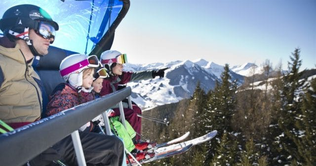 Saalbach Ski Familie