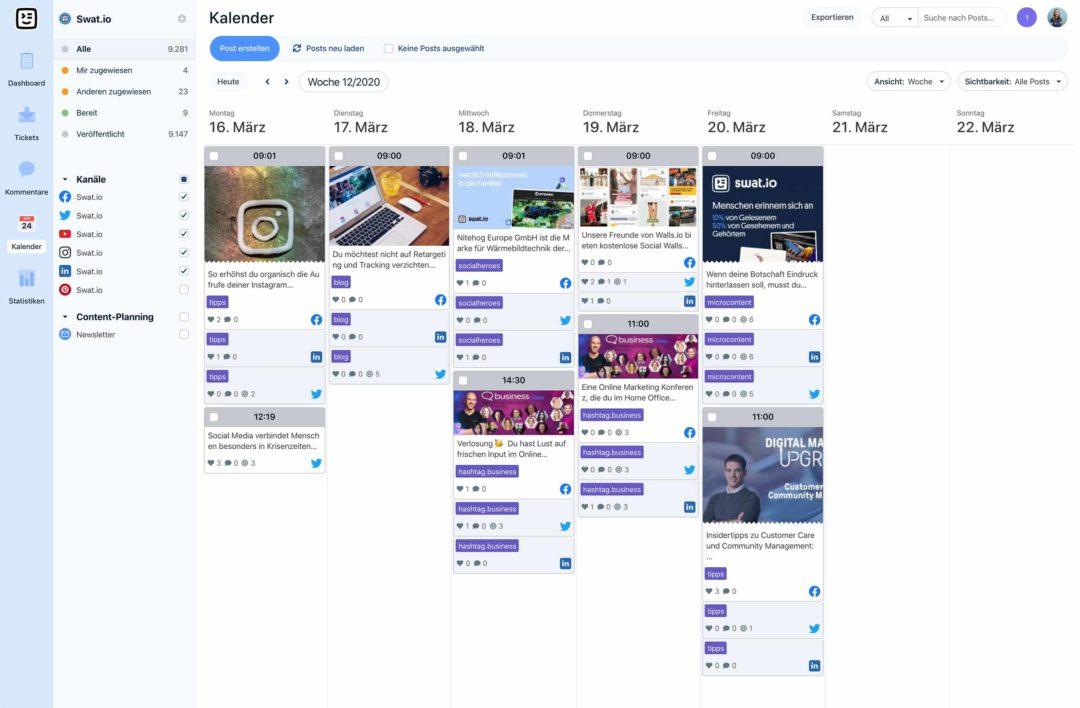 Social Media Einsteiger Guide Contentplan