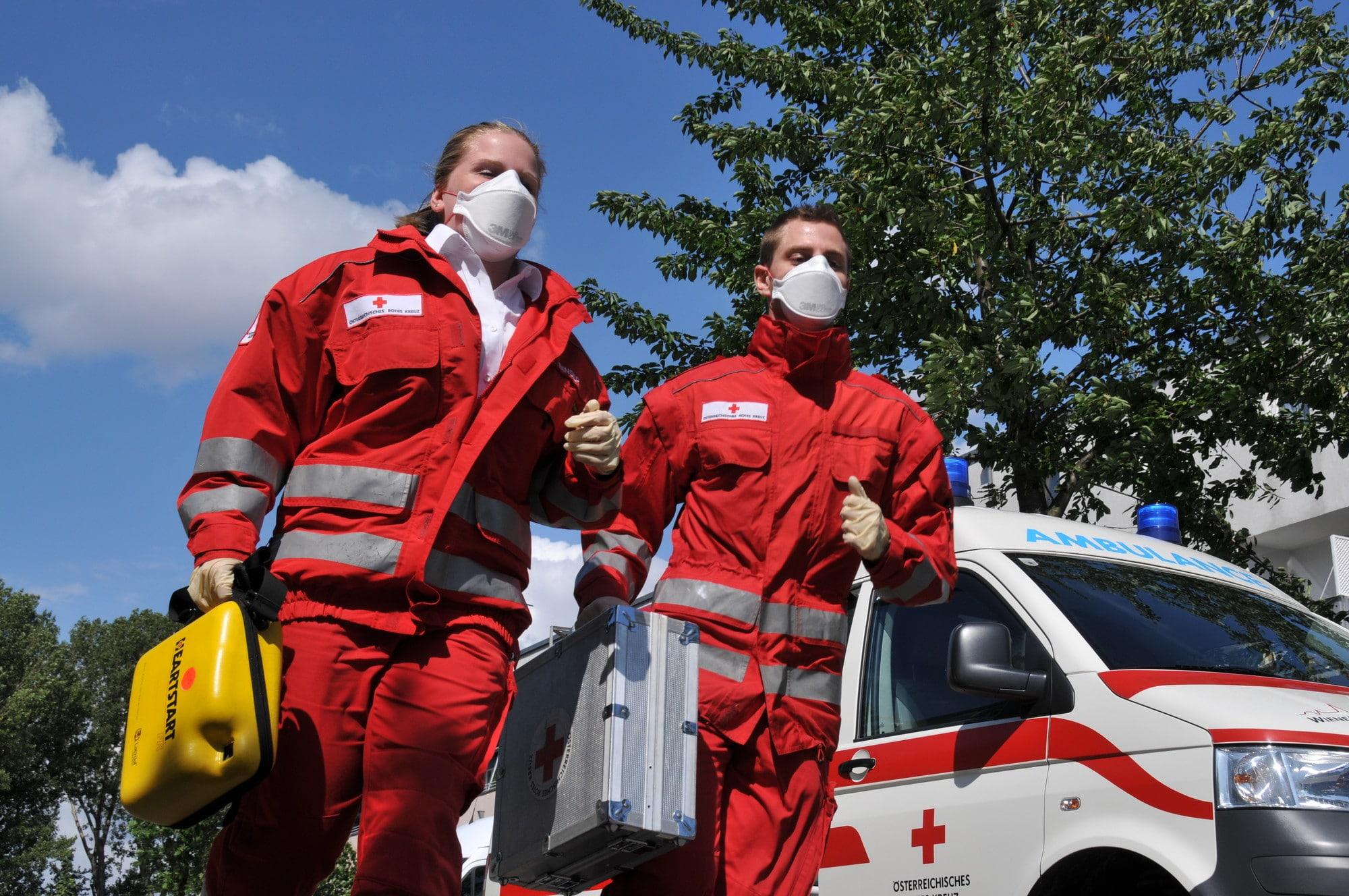 Österreich 2020: Das Rote Kreuz im Einsatz